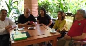 Video: Silvio Rodríguez recitó el poemaLa muralla ante AMLO, quien a partir del próximo sábado será presidente de México
