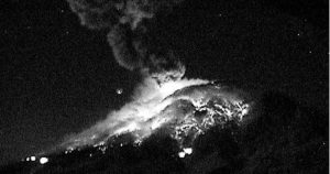 Video: Material incandescente sale del Popocatépetl; autoridades piden respetar el radio de seguridad