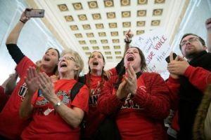 Nuevo triunfo de maestros de West Virginia: debido a su presión, continuará la prohibición del establecimiento de chárter en ese estado