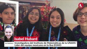Triunfan mexicanas en la Olimpiada Europea Femenil de Matemáticas