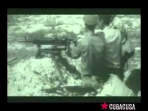 Videos de la fracasa invasión de mercenarios a Cuba, apoyada por la CIA, para derrocar a Fidel, hace 58 años