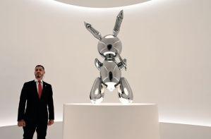 Jeff Koons, con récord mundial en subasta, en el Museo Jumex de la capital mexicana