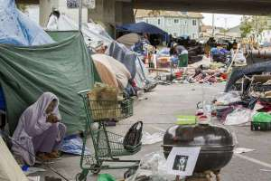Newsom crea grupo de trabajo a atacar el creciente problema de desamparados en California