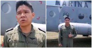 Video: Antes abordar el helicóptero que se desplomó con saldo de 6 muertos, un marino alertó que no había turbosina para esa nave