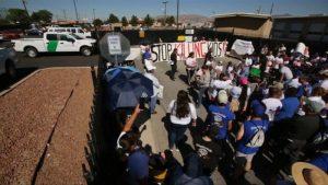 Protestan contra políticas migratorias de Trump