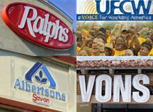Trabajadores decidirán si estallan huelga en  las tiendas Ralphs, Vons y Albertsons