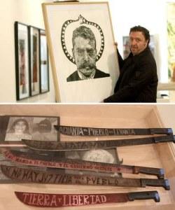 Más de 50 artistas reinventan a Zapata desde la gráfica actual