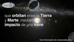AIDA, proyecto de la NASA y la ESA para desviar un asteroide que se acerque a la Tierra