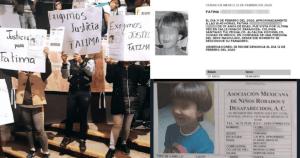 """Justicia para Fátima"""": Asesinato de niña de 7 años provoca enojo e indignación. Incluso en Sheinbaum"""