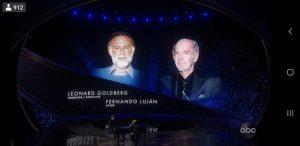 Video: Homenaje al desaparecido  Fernando Luján en los Premios Oscar