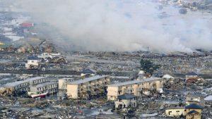 Revelan video del sismo más potente de la historia de Japón, de 9.1 grados, que duró 6 minutos