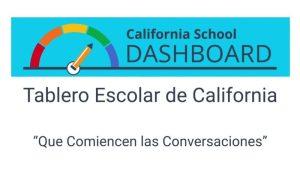 En el Dashboard de California, las respuestas e información para una mejor educación de los niños
