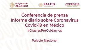 #EnVivo: Reporte diario sobre COVID-19 en México. 2 de julio