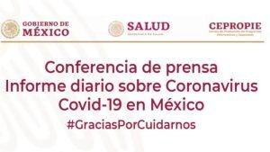 #EnVivo: Reporte diario sobre COVID-19 en México. 31 de julio.