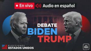 #EnVivo: Ultimo debate Biden y Trump