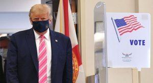 """Video: """"Voté por un tipo llamado Trump"""", dijo al sufragar en Florida"""
