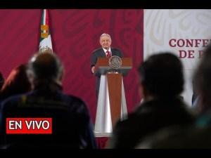 #EnVivo: La Mañanera de AMLO. 27 de noviembre