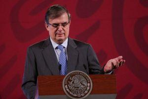 En diciembre se perfila vacunación contra Covid-19 en México, anuncia Ebrard