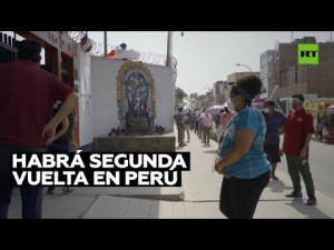 Video: El izquierdista Pedro Castillo lidera elecciones presidenciales en Perú