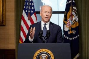 """EU """"cumplió el objetivo"""" en Afganistán: Biden"""