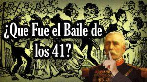 Historia del número 41, ligado a homosexuales en México. Plena expresión de homofobia