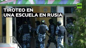 Videos: El tirador que mató a 9 personas e hirió a 21 en una escuela rusa dice que es Dios
