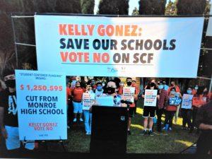Piden a la Junta Educativa del distrito escolar de LA que no apruebe el modelo Students Centered Funding porque recortaría fondos a escuelas