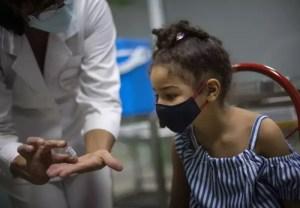 Cuba comenzó a vacunar a niños y adolescentes contra el coronavirus