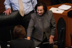 Postula el Senado a Ifigenia Martínez para otorgarle la medalla Belisario Domínguez 2021