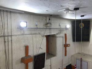 Updated LED lighting for bell ringers