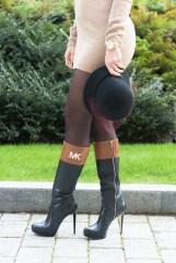 ZLATINA BROWN DRESS-5