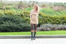 ZLATINA BROWN DRESS-7