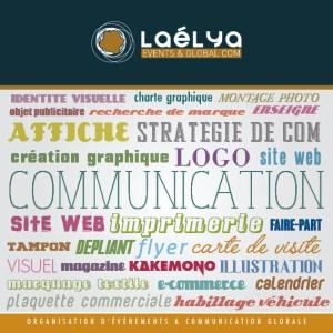 Laélya : communication et imprimerie