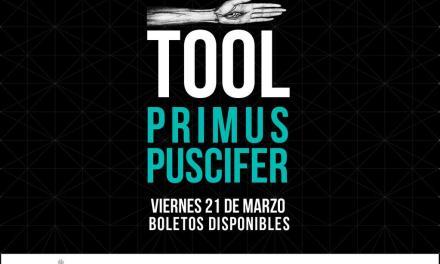 TOOL, Primus y Puscifer primeros confirmados en Cumbre Tajín 2014