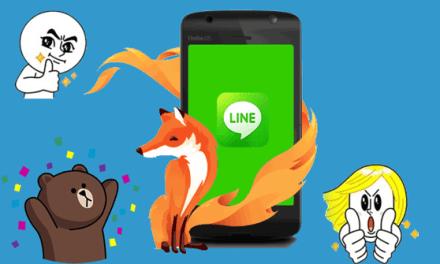 Line llega a teléfonos con Firefox OS