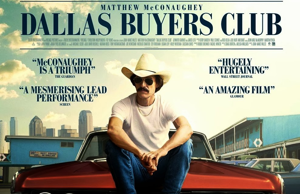 DALLAS BUYERS CLUB o la infamia de la industria farmacéutica
