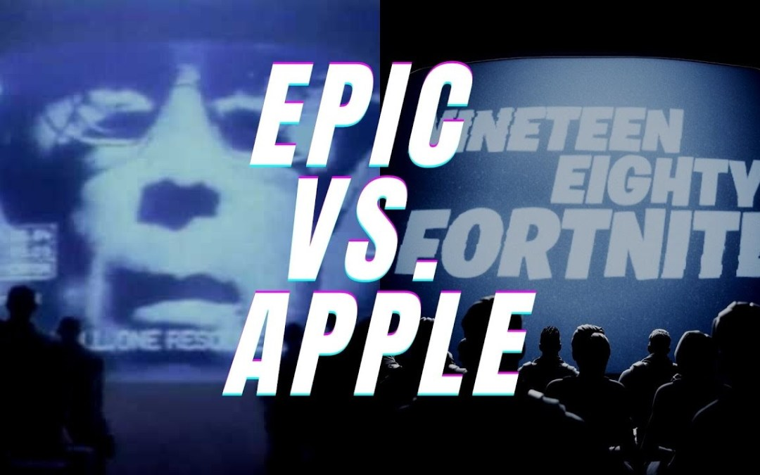 Epic Games lanza su propia versión del comercial «1984» para criticar a Apple