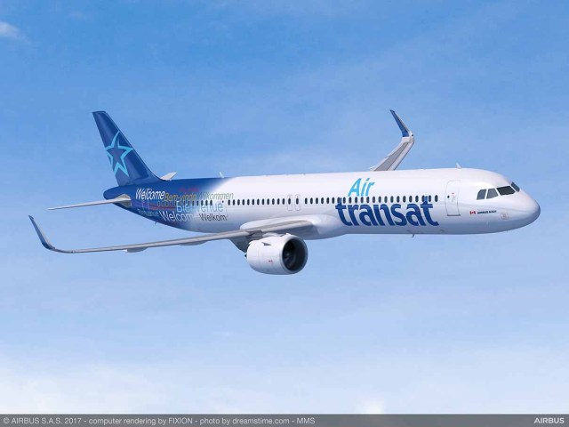 Air Transat prend dix A321LR