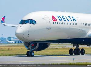 Delta reçoit son premier A350