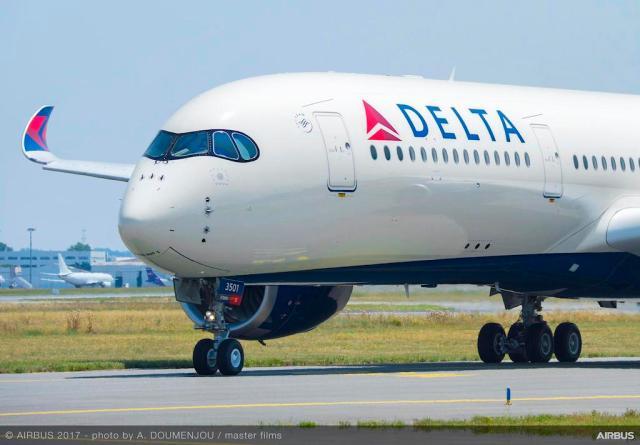 AFI KLM E&M supportera la flotte A350 de Delta