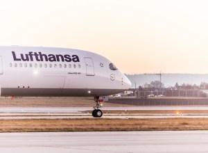 Lufthansa : deux A350 pour Hong Kong