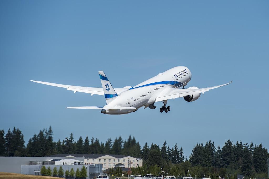 EL AL reçoit son premier Boeing 787