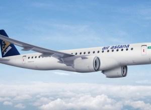 Air Astana prend cinq E190-E2