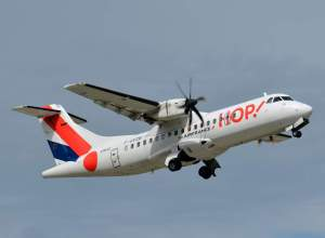 HOP! Air France inaugure Rouen-Lyon