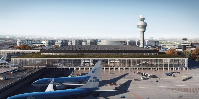 Aeroport_Amsterdam_Schiphol_nouveau_terminal_7