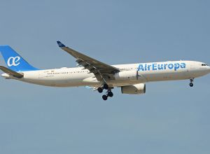 Air Europa part pour Recife
