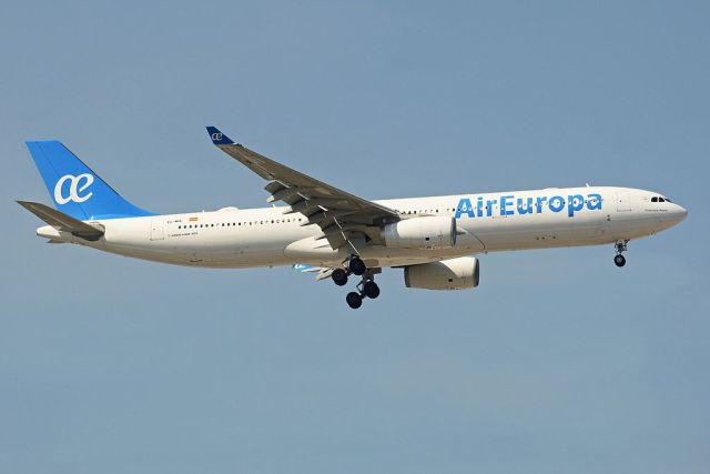 Air Europa part pour Recife