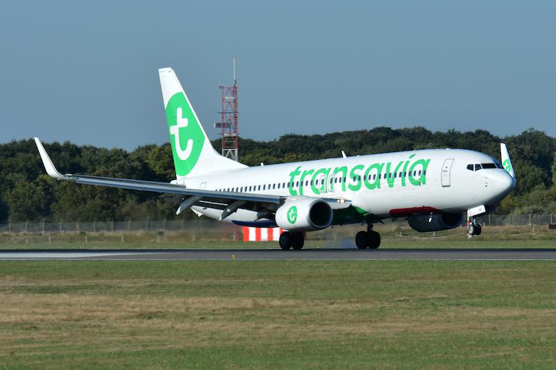 Transavia renforce sa base de Nantes avec un troisième avion