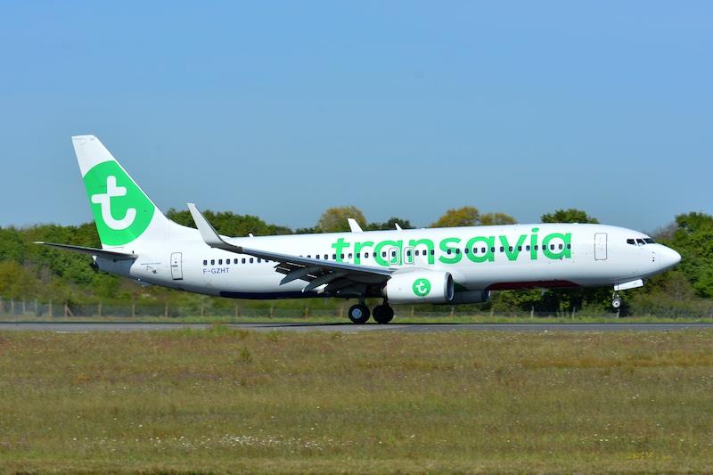 Transavia met en vente 5,4 millions de sièges pour l'été 2018