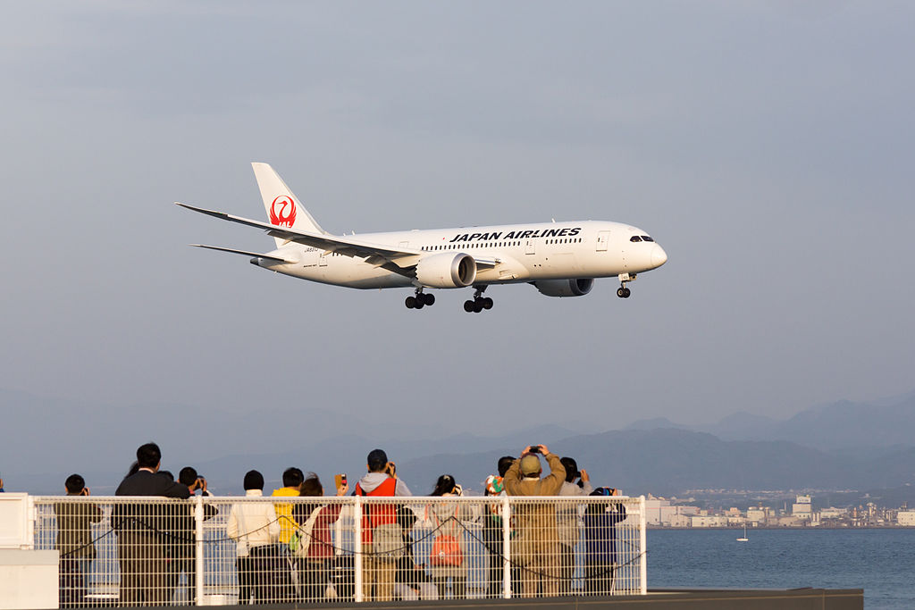 Une commande de 4 Boeing 787-8 Dreamliner — Japan Airlines